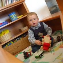 Spielecke für Kinder im Wartezimmer der Ordination Dr. Sigrid Schmidl-Amann
